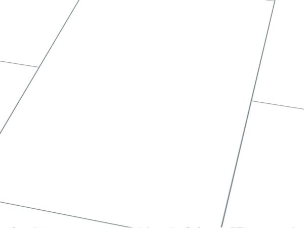 Glanzlaminat Jangal 2935 Glanz Plain White (810x400) Stone Line 8mm Fliese